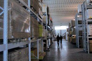 Cecchini holding main warehouse
